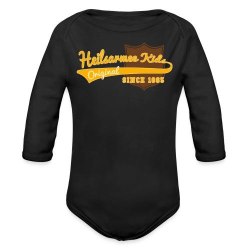 Kids Shirts Baseball - Baby Bio-Langarm-Body