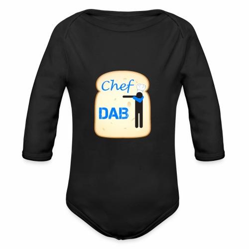 Dab Chef - Body ecologico per neonato a manica lunga