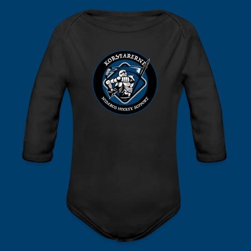 Korsfarerne - Økologisk langermet baby-body