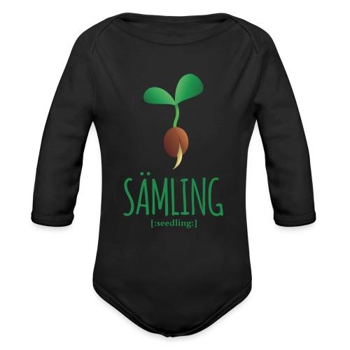 Sämling - Baby Bio-Langarm-Body