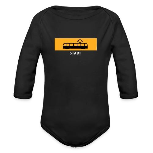 STADIN RATIKKA PYSÄKKI KYLTTI T-paidat ja lahjat - Vauvan pitkähihainen luomu-body