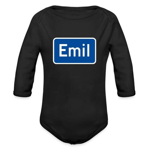 emil - Økologisk langermet baby-body