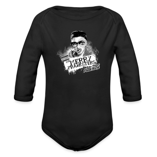 THE_MERRY_PRANKSTERS_STANDARD_scuro - Organic Longsleeve Baby Bodysuit