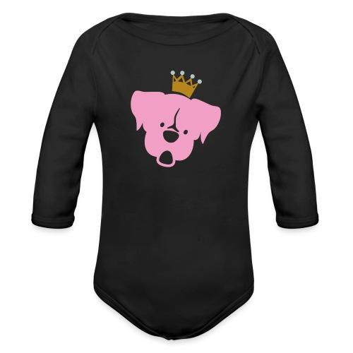 Prinz Poldi rosa - Baby Bio-Langarm-Body
