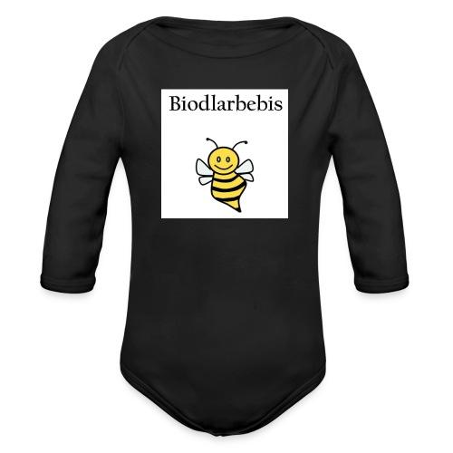 Biodlarbebis jpg - Ekologisk långärmad babybody