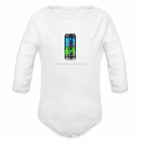 Nafta Energy Drink - Body ecologico per neonato a manica lunga