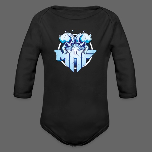 MHF New Logo - Organic Longsleeve Baby Bodysuit