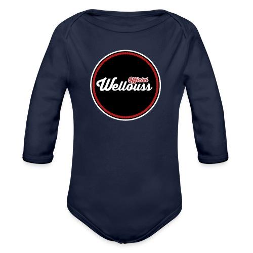 Wellouss Fan T-shirt   Rood - Baby bio-rompertje met lange mouwen