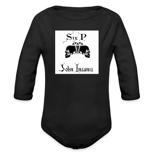 Six P & John Insanis New T-Paita - Vauvan pitkähihainen luomu-body