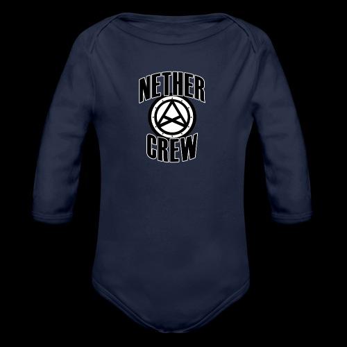 Nether Crew Classic T-shirt - Body ecologico per neonato a manica lunga