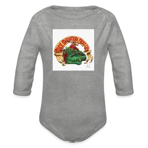 DiceMiniaturePaintGuy - Organic Longsleeve Baby Bodysuit