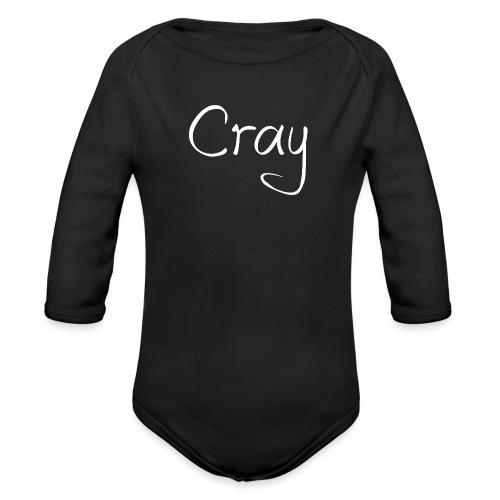 Cray Lang Ärmel TShirt für über 14 jahren - Baby Bio-Langarm-Body