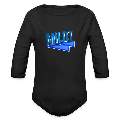 MILDT Mok - Baby bio-rompertje met lange mouwen