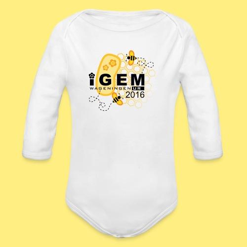 Logo - shirt women - Baby bio-rompertje met lange mouwen