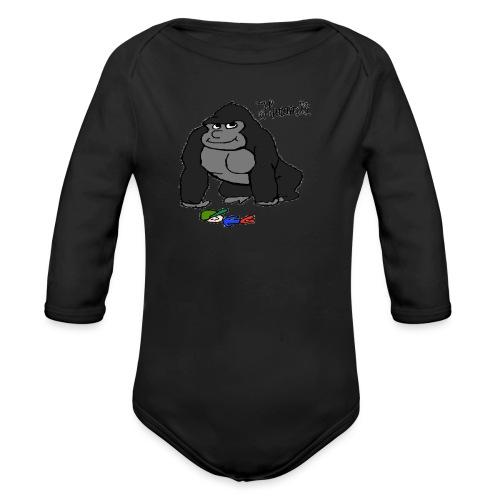 Harambae - Baby bio-rompertje met lange mouwen