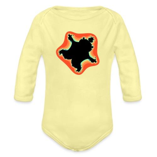 Burn Burn Quintic - Organic Longsleeve Baby Bodysuit