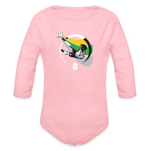 Ninho Over Footbal - Body ecologico per neonato a manica lunga