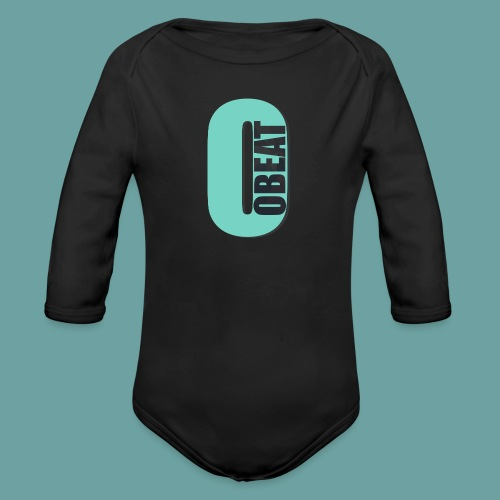 OBeat Logo O - Baby bio-rompertje met lange mouwen