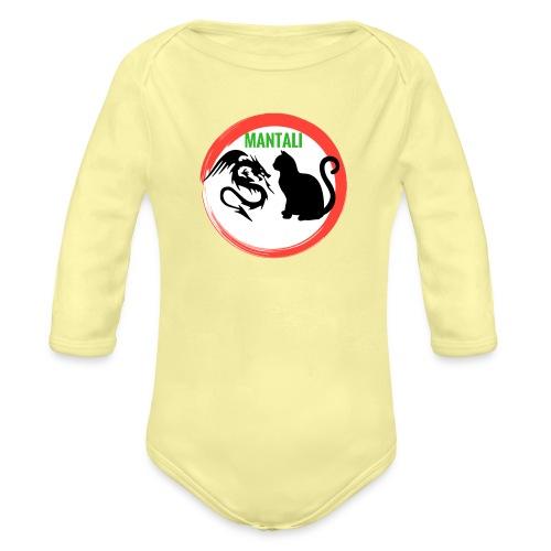 manf - Body ecologico per neonato a manica lunga