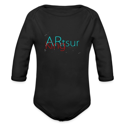 ARtsurKing Logo - Organic Longsleeve Baby Bodysuit