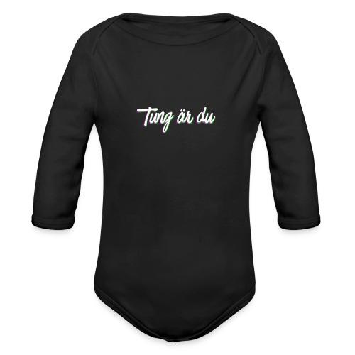 tung--ru - Ekologisk långärmad babybody