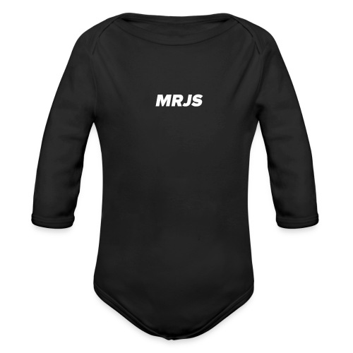 MRJS Bag - Body bébé bio manches longues