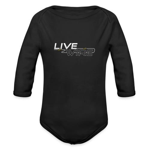 YT_Watermark - Organic Longsleeve Baby Bodysuit