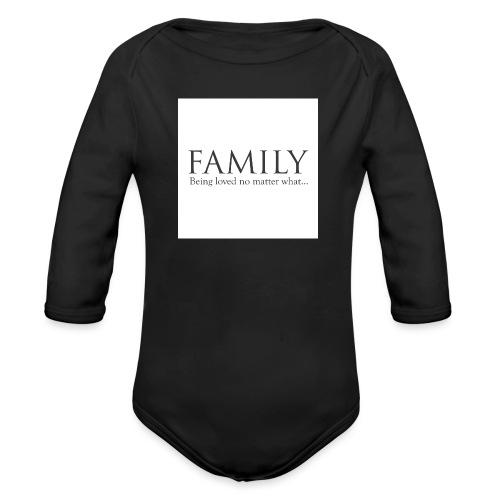 36d_family - Økologisk langermet baby-body
