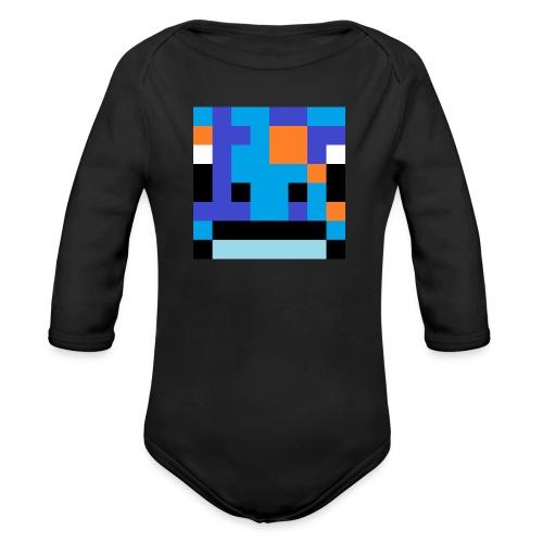 big_head - Organic Longsleeve Baby Bodysuit