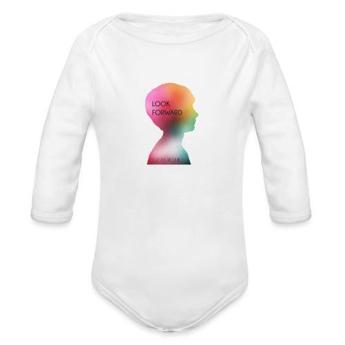 Gwhello - Baby bio-rompertje met lange mouwen