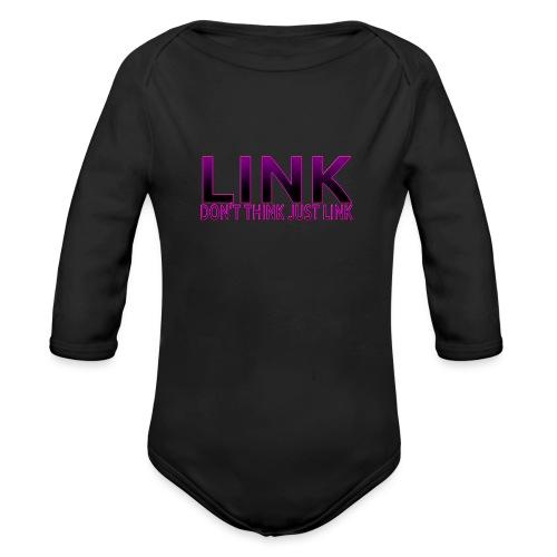 LINK PURPLE DESIGN - Organic Longsleeve Baby Bodysuit