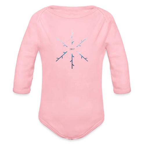 SNOW - Body ecologico per neonato a manica lunga