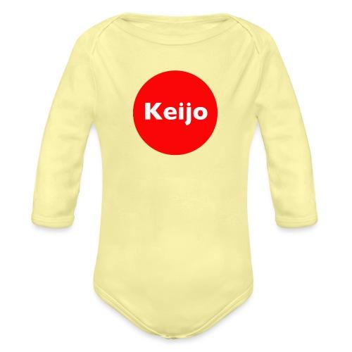 Keijo-Spot - Vauvan pitkähihainen luomu-body
