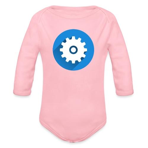 Caneca Canal LM Tutors - Organic Longsleeve Baby Bodysuit