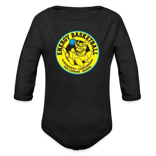 baby energy basketball - Body ecologico per neonato a manica lunga