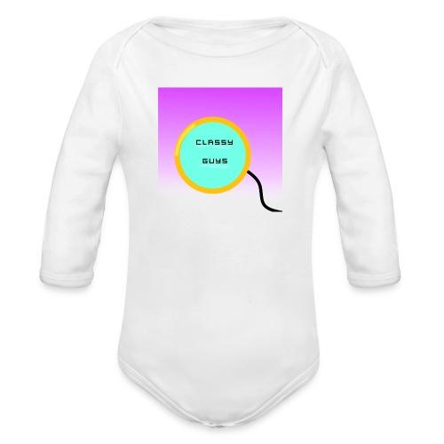 YouTube Logo - Organic Longsleeve Baby Bodysuit