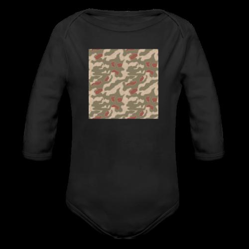 Sumpfmuster 1944 - Body bébé bio manches longues