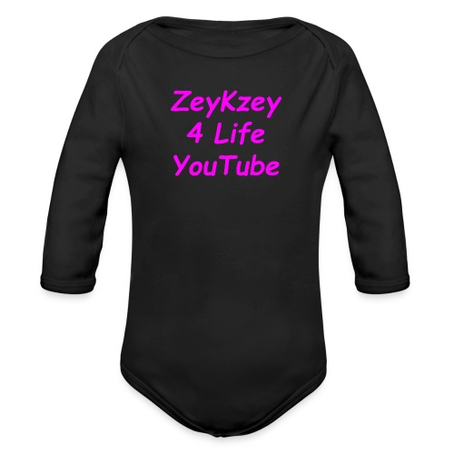 ZeyKzey Steet Waer - Ekologisk långärmad babybody