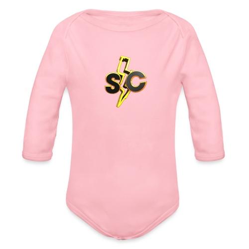 SkyCatan Appereal! Limited edition dank! - Økologisk langermet baby-body