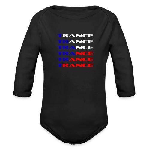Trance Tjeckien - Ekologisk långärmad babybody