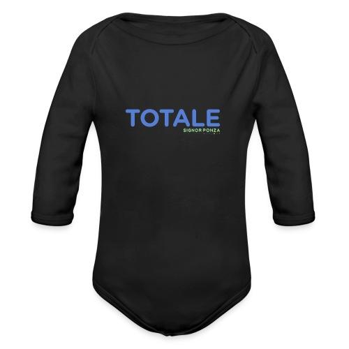 TOTALE - Body ecologico per neonato a manica lunga