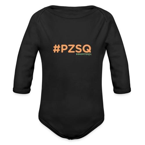 PZSQ - Body ecologico per neonato a manica lunga