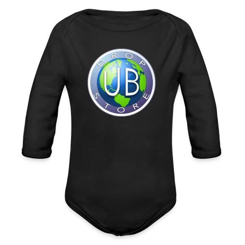 DropStore UB Logo - Økologisk langermet baby-body