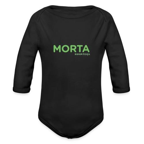 MORTA - Body ecologico per neonato a manica lunga