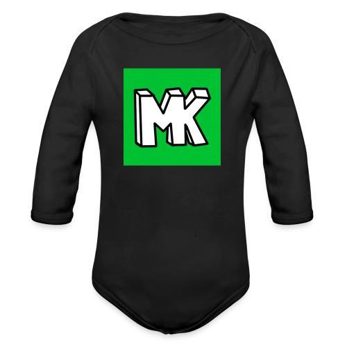 MK - Baby bio-rompertje met lange mouwen