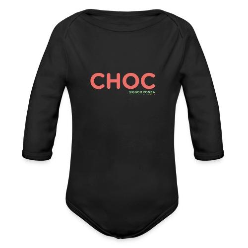 CHOC 2 - Body ecologico per neonato a manica lunga