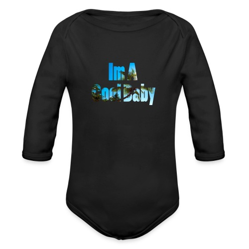 Ima_cool_Baby - Organic Longsleeve Baby Bodysuit