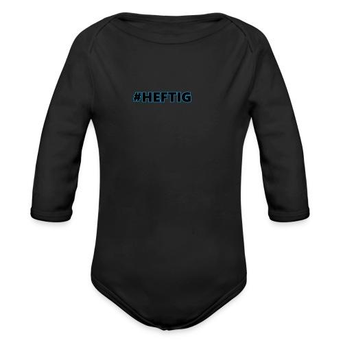 #HEFTIG Design - Baby Bio-Langarm-Body