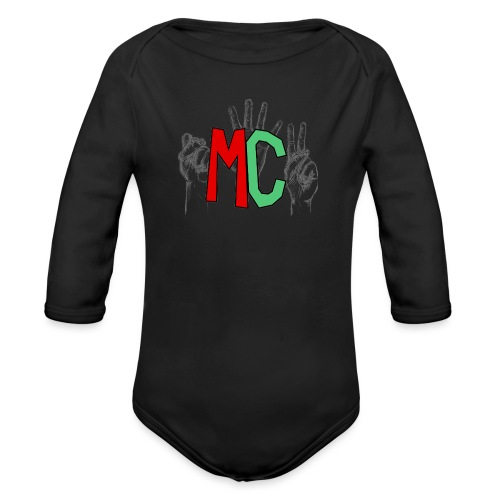 Logo vuoto iMorracinese - Body ecologico per neonato a manica lunga