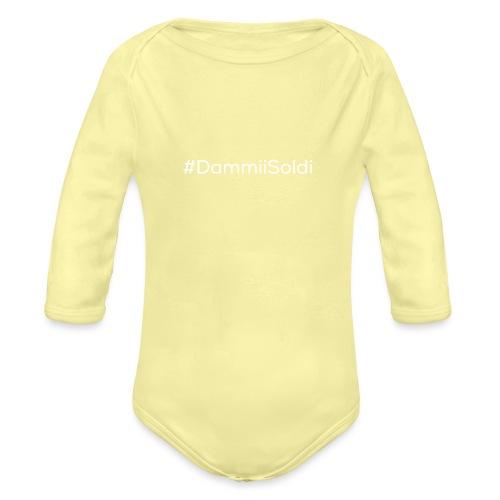 #DammiiSoldi - Body ecologico per neonato a manica lunga